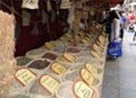 Un puesto del Mercado Medieval
