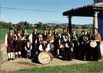 Banda de gaitas Nalgañu de San Martín de la Carrera